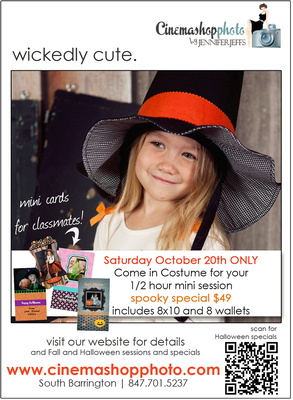halloween wickedly cute ad little witch girl