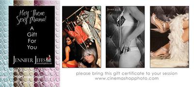 Boudoir Gift Certificate
