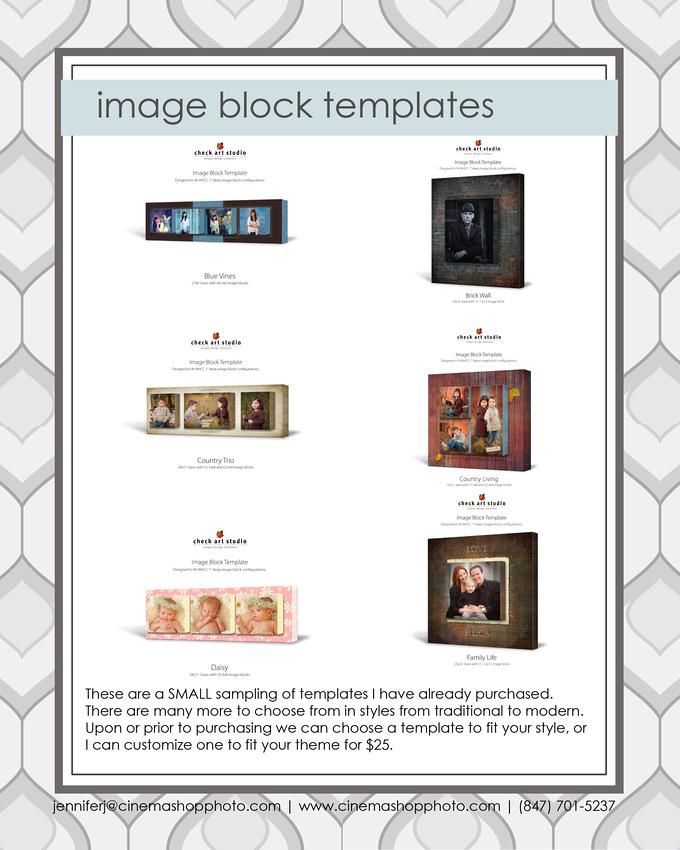 image block templates