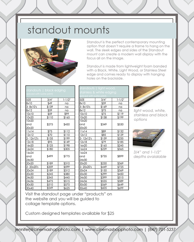 standout mounts