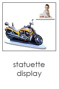 statuette display