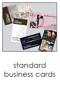 custom business cards designed just for you