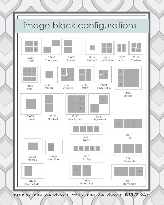 image block configurations