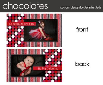 mini valentine template chocolate tie