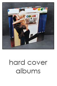 custom designed hard cover books in sizes 5x5, 8x8 & 8.5x11